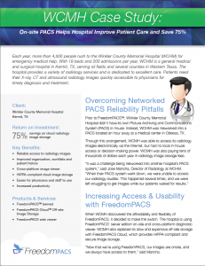 Winkler County Memorial Hospital Case Study—Radiology PACS System