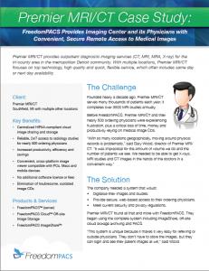 Premier_case_study radiology image sharing
